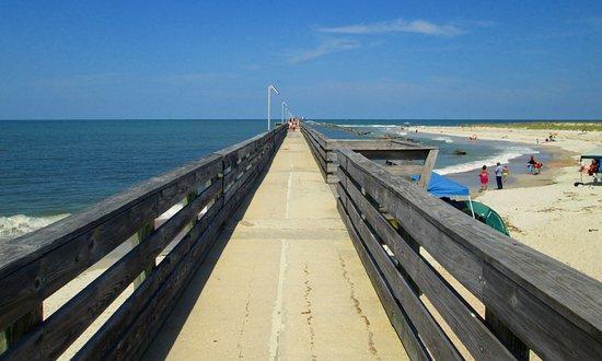 Fernandina Beach, FL: The pier, Ft. Clinch State Park, Amelia Island