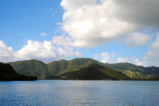 Coral Bay, St. John: Island views