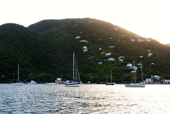 Coral Bay, St. John: Coral Harbor from Roberta's boat