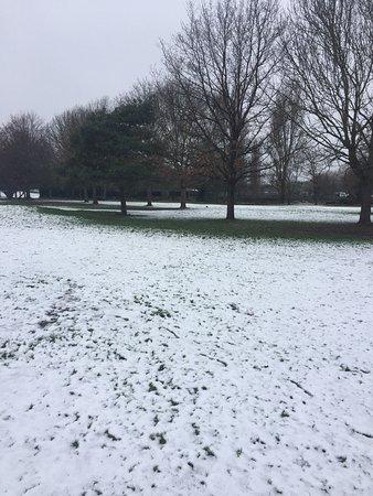 Gillingham, UK: Snowy scenes