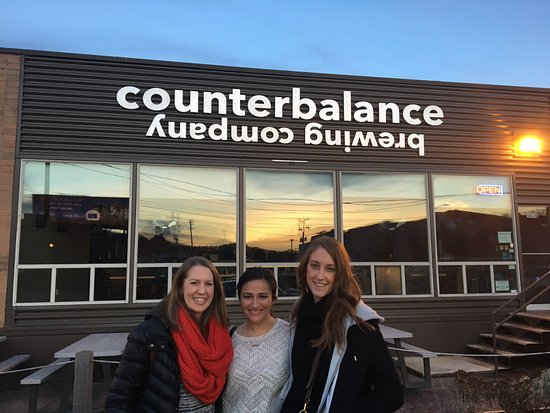 Road Dog Tours : Counterbalance Brewery was our favorite!