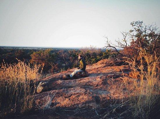 Частный заповедник Мабула, Южная Африка: Sundowners