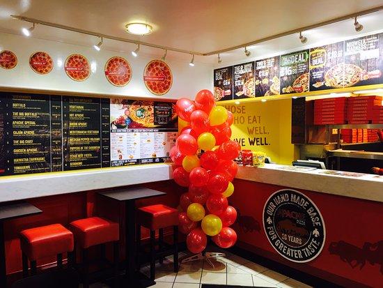 Apache Pizza Enniskillen Menu Prices Restaurant