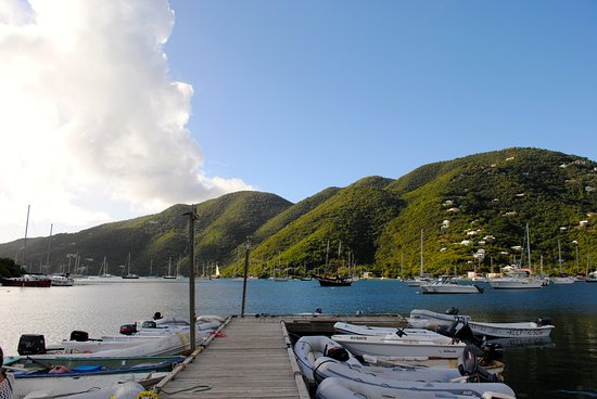 Coral Bay: From the dinghy dock