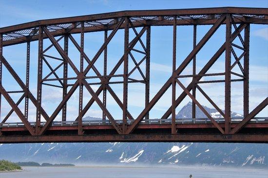 Miles Glacier Bridge Foto