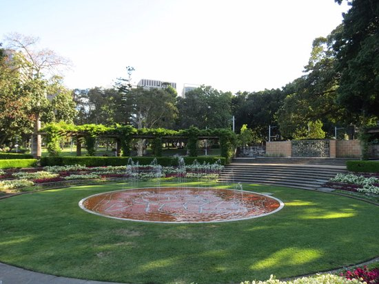 Hyde Park: A peaceful planted area