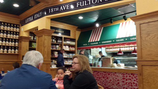 Chester, MD: inside Carmine's