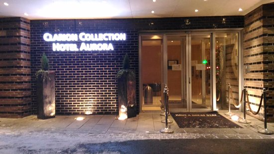 Clarion Collection Hotel Aurora: Entrata