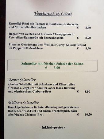 Tannesberg, Deutschland: Vegetarisch