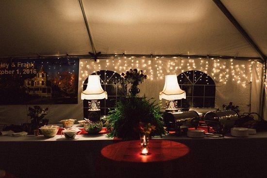 Hunter, Nova York: A view of the Food Table - Rehersal dinner