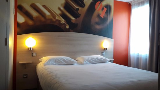 Brit Hotel Brasserie du Cap - La Rochelle : Chambre double