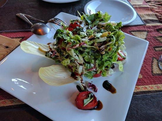 Las Morillas : Side salad