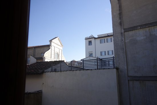Palazzo dal Borgo Hotel Aprile: Vista dalla camera Superior n°9