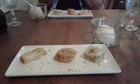 Monflanquin, Γαλλία: Desserts