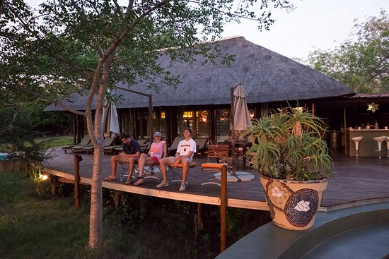 Vuyatela Lodge & Galago Camp: The Vuyatela deck