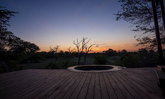 Djuma Game Reserve, Sudáfrica: Sunrise from Vuyatela 1