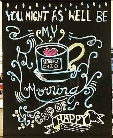 Oakville, Canadá: You might as well be my morning cup of happy:)