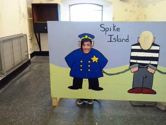 Cobh, Irland: Spike Island