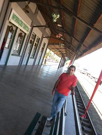 Jaguariaiva, PR: pátio da estação
