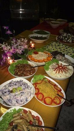 Kuala Teriang, Malezja: The Christmas spread!
