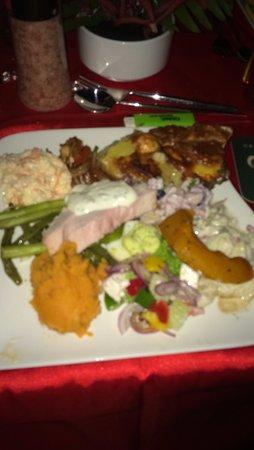 Kuala Teriang, Malezja: My overflowing plate!