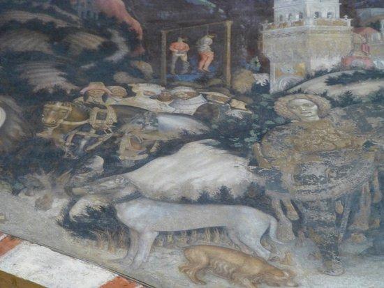 Chiesa di Sant'Anastasia: Pisanello St. George and the Princess of Trebizond