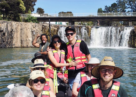 Taiamai Tours Heritage Journeys: We paddled to the falls!
