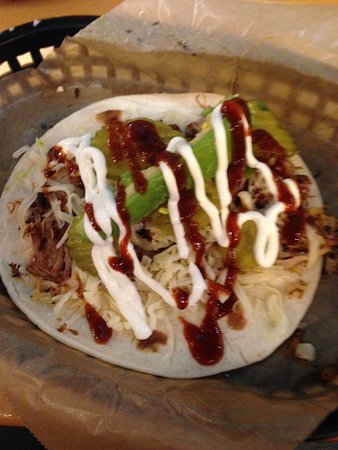 Sugar Land, TX: Washingtonian pork taco