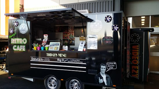 Boyne Island, Australia: Our cafe on wheels! :)