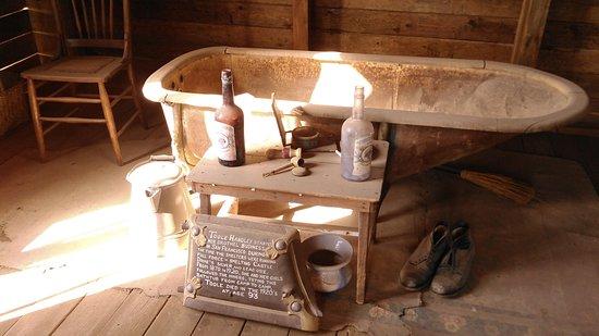 Yuma, Arizona: This tub has history