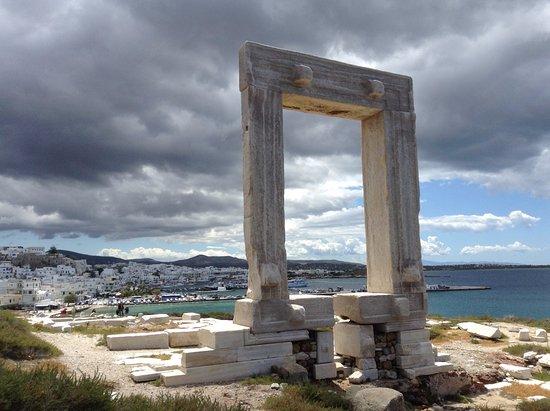 Portara: Naxos Chora from the Portera