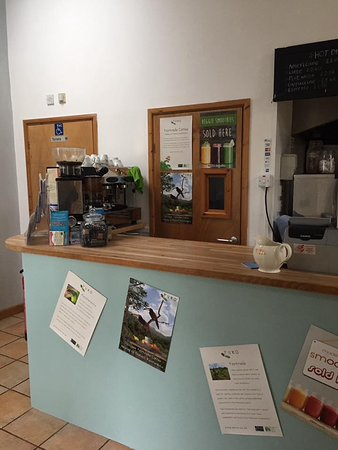 The Peppercorn Cafe: New counter