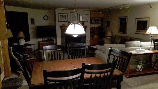 Highridge Condominiums: dining table unit A14