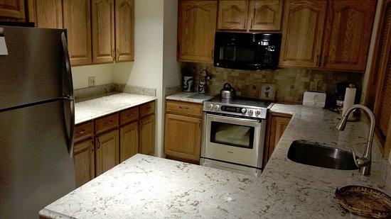 Highridge Condominiums: full kitchen unit A14
