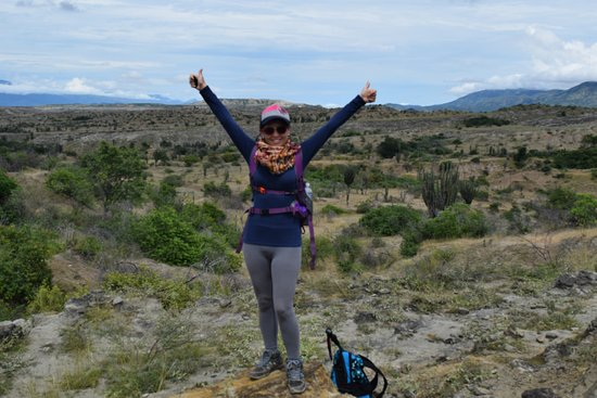 Desierto de la Tatacoa: sector los Hoyos caminata por el valle de los Xilopados