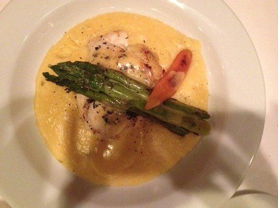 Aspen Grille : Flounder and Crabmeat