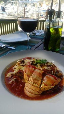 Presto: Lasagna de Langosta.