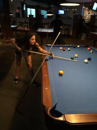 Marietta, GA: The pool tables