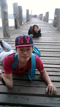 Amarapura, Myanmar: สุขสุนต์ที่สะพาน U-Bein #4