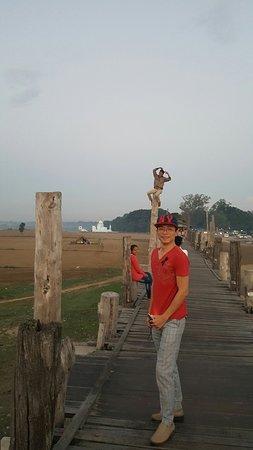 Amarapura, Myanmar: สุขสุนต์ที่สะพาน U-Bein #5