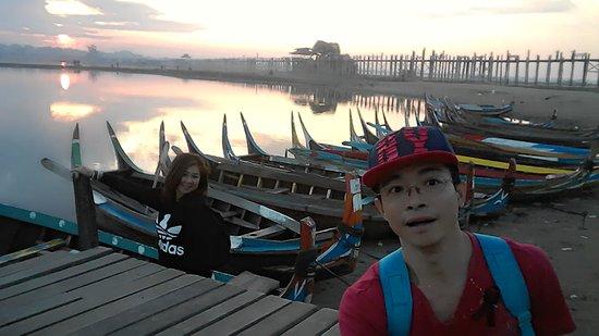 Amarapura, Myanmar: สุขสุนต์ที่สะพาน U-Bein #6
