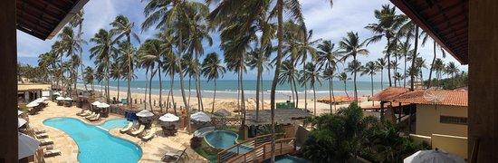 Lagoinha, CE: Vista da varanda (2o. andar)