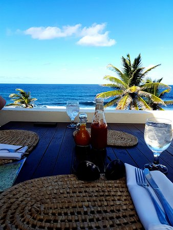 Bathsheba, Barbados: Soup Bowl & Lunch at RoundHouse on the hill