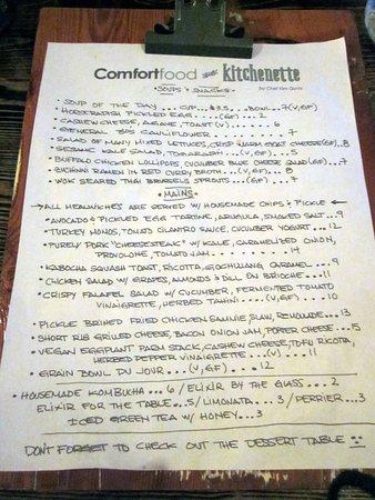 Morrisville, PA: ComfortFood menu