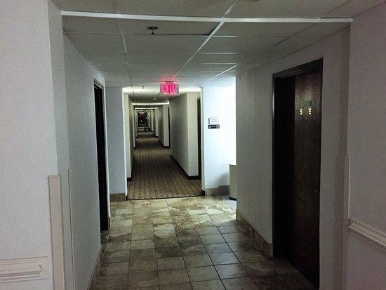 Danville, فيرجينيا: Fifth floor hall