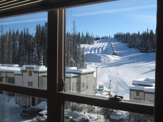 Silver Star, Canada: View of Tube Town from the condo