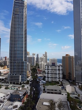 Great view of Surfers Paradise