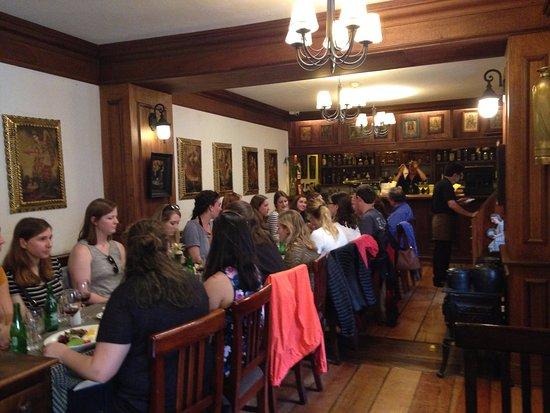Cafe del Fraile: Interior do restaurante