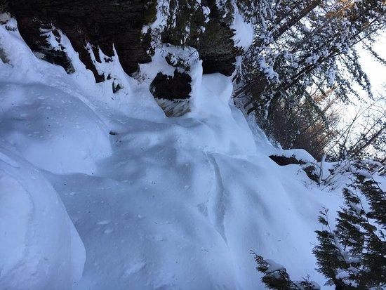 Pembine, Ουισκόνσιν: Winter 2 Looking up