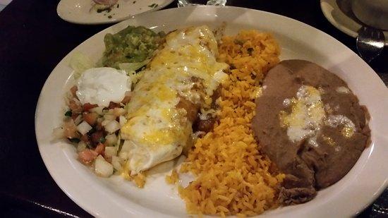 Ashburn, Virginie : Burrito Plate